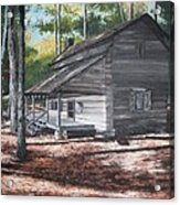Georgia Cabin In The Woods Acrylic Print