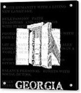 Georgia Guidestones Movie Poster Acrylic Print