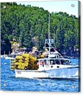 Georgia Madison Lobster Boat Acrylic Print