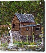 Georgia Mill Acrylic Print by Leo Gehrtz
