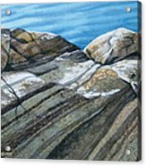 Georgian Bay Shadowplay Acrylic Print