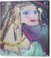 Georgiana And The Ring Acrylic Print by Judith Desrosiers