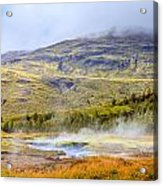Geothermal Pools Acrylic Print