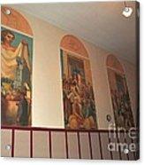 Gerald Mast Murals In Clare Michigan Acrylic Print