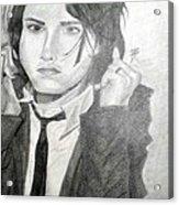 Gerard Way Acrylic Print