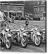 German Chariots At Potsdam Acrylic Print