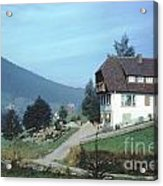 German Country Home Acrylic Print