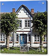 German Country House  Acrylic Print