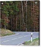 German Country Road Acrylic Print