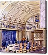 German Dining Hall, Early 20th Century Acrylic Print