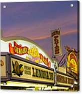 German Fries Topsfield Fair Acrylic Print