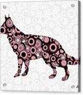 German Shepherd - Animal Art Acrylic Print