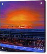 German Sunrise Acrylic Print