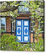 German Timber-framed Country House Acrylic Print