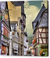 German Village Acrylic Print