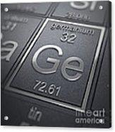 Germanium Chemical Element Acrylic Print