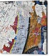 Germany, Berlin Wall Berlin Acrylic Print