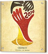 Germany World Cup Champion Acrylic Print