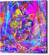 Geronimo 20130611gre-p180 Acrylic Print by Wingsdomain Art and Photography