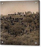 Geronimo's Band Of Warriors 1886-2012 Acrylic Print