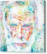 Gerry Mulligan - Portrait Acrylic Print
