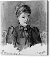 Gertrude Bell (1868-1926) Acrylic Print