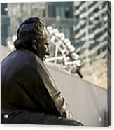 Gertrude Stein Nyc Acrylic Print by Joanna Madloch