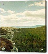 Gertrudes Nose Hiking Trail Acrylic Print