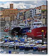 Getaria In Basque Country Spain Acrylic Print