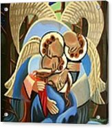 Gethsemane The Hour Is Near Acrylic Print by Anthony Falbo