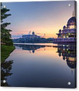 Getting The Perfect Shot Acrylic Print