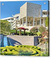 Getty Center Central  Garden Brentwood  Ca Acrylic Print