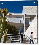 Getty Museum Acrylic Print