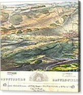Gettysburg Battlefield 1863 Acrylic Print