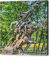 Gettysburg Battleground Memorial Acrylic Print