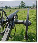 Gettysburg Cannon 2  Acrylic Print