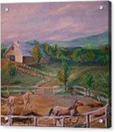 Gettysburg Farm Acrylic Print