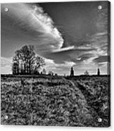 Gettysburg Sky Acrylic Print