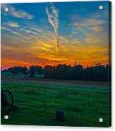 Gettysburg Sunrise Acrylic Print