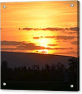 Gettysburg Sunset Acrylic Print