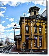 Gettysburg Train Station Acrylic Print