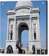 Gettysburg Union Monument Acrylic Print