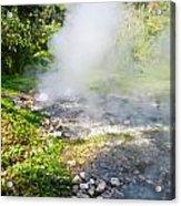 Geyser Hot Spring In Huai Nam Dang National Park In Chiang Mai Acrylic Print