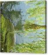 Gezaehmte Frisur Acrylic Print