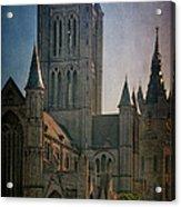 Ghent Skyline Acrylic Print
