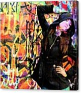 Ghetto Colours Acrylic Print