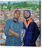 Ghetto Voice Acrylic Print