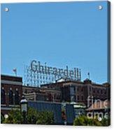 Ghirardelli Square Acrylic Print