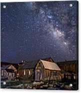 Ghost Dog At Bodie Acrylic Print