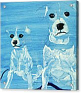 Ghost Dogs Acrylic Print